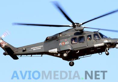 Volo sanitario urgente da Barletta a Roma per un HH-139 dell'Aeronautica Militare
