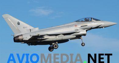 Eurofighter Typhoon Aeronautica Militare Air Policing servizio piano di volo due caccia