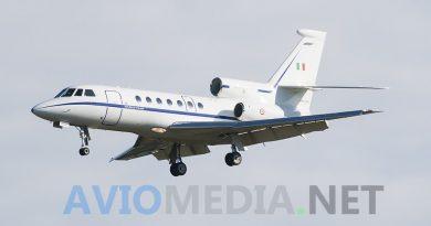 Tre missioni sanitarie in tre giorni per i Falcon dell'Aeronautica Militare