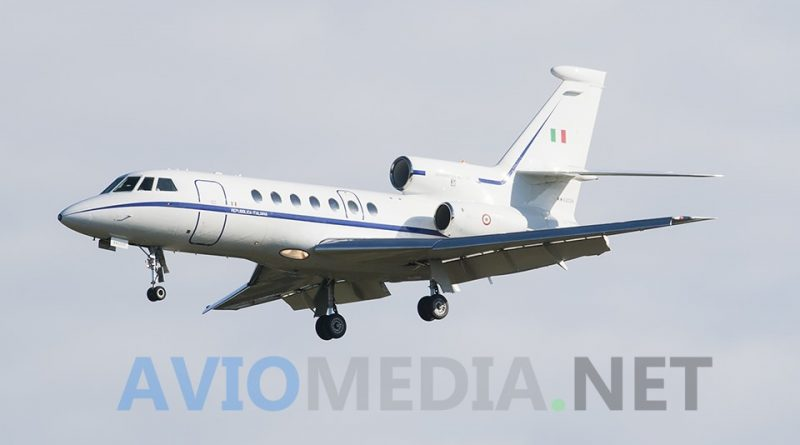 Trasporto sanitario un Falcon 50 volo urgente