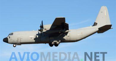 C130J Super Hercules Antartide Aeronautica supporto