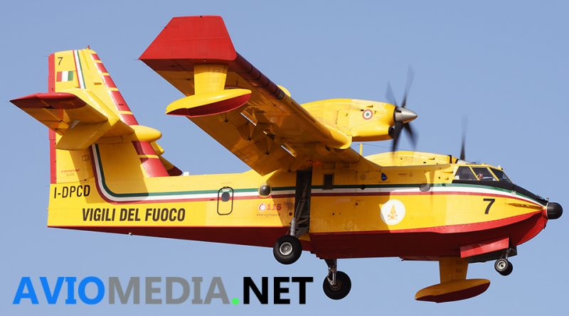 conclusa antincendio intervento aereo flotta aerea due canadair campagna 2019 Libano