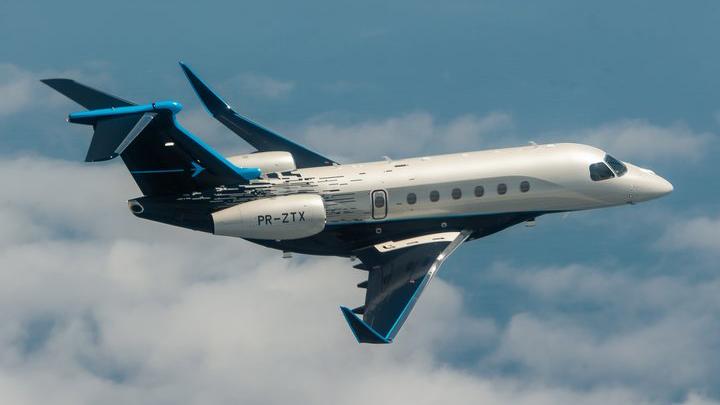 Debuttano ad Orlando i nuovi business jet Praetor 500 e Praetor 600 di Embraer
