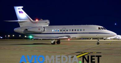 Due piccole pazienti trasferite con urgenza da Bergamo a Catania con un Falcon 900 dell'Aeronautica Militare