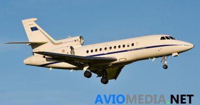 F900 Aeronautica Militare un Falcon 900 urgente volo salvavita ciampino
