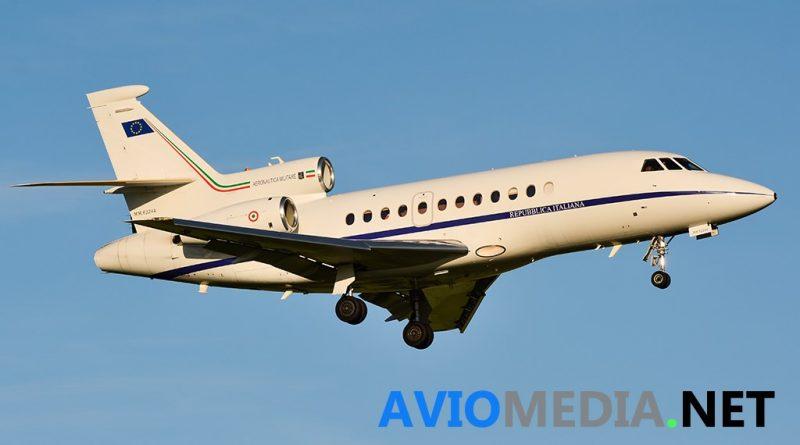 Volo sanitario da Olbia a Roma per un Falcon dell'Aeronautica Militare