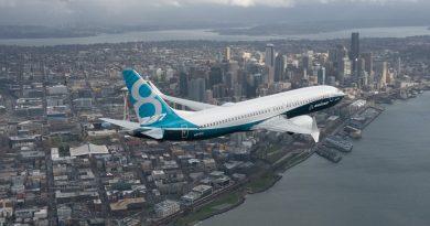 737 MAX 8 secondo trimestre costruzione