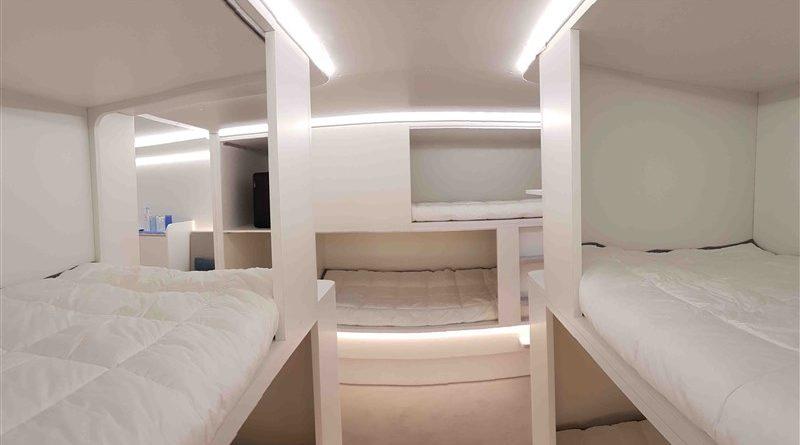 Lower deck Pax Experience Module Airbus Safran