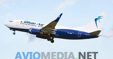 Blue Air da settembre