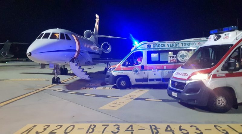 Aeronautica Militare: un Falcon 900 in volo per il trasporto sanitario urgente di bambina di 5 anni